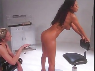 sexy female bound and has fur pie spanked