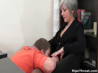 slutty mother i gives oral-sex to excited