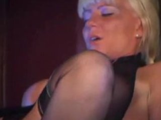 sexy blonde d like to fuck in stockings bonks and