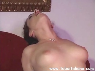 italian dark brown federica zarri is getting