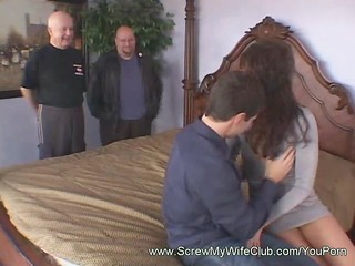 dark brown cowgirl spanked whilst riding a shlong