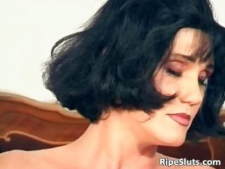 glamorous aged brunette hair fuck her juicy part3