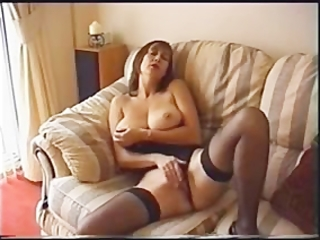 hawt milf solo toying